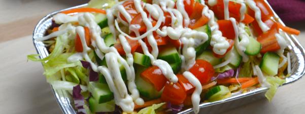 Hoe maak je een gezonden kip kapsalon in de airfryer?