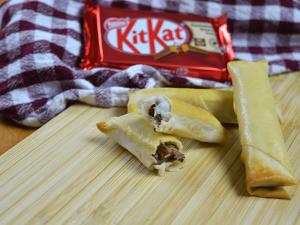 Kitkat stengels in de airfryer maken